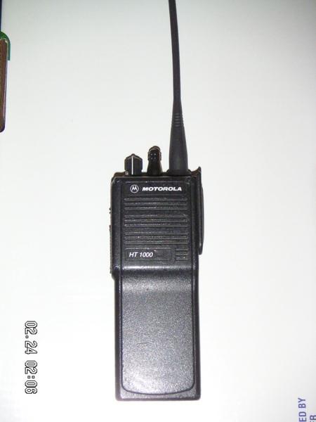 Motorola Visar Radio Manual