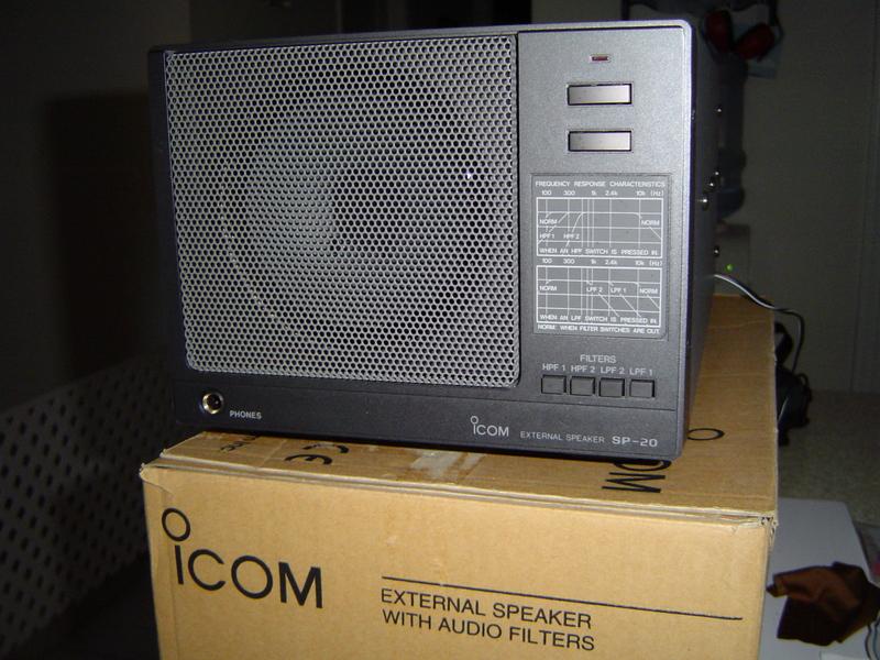 Eham Net Classifieds Icom Sp 20 Filtered Speaker