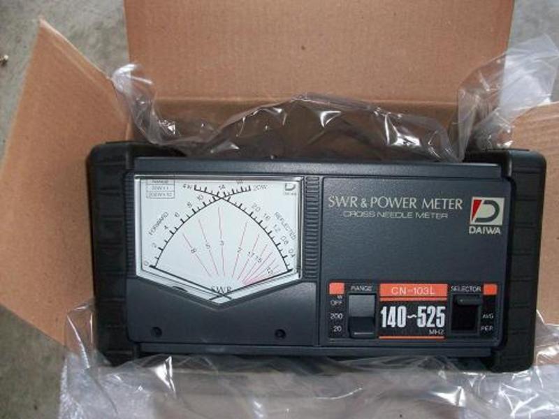 Swr Power Meter : Eham classifieds daiwa cn n swr power meter