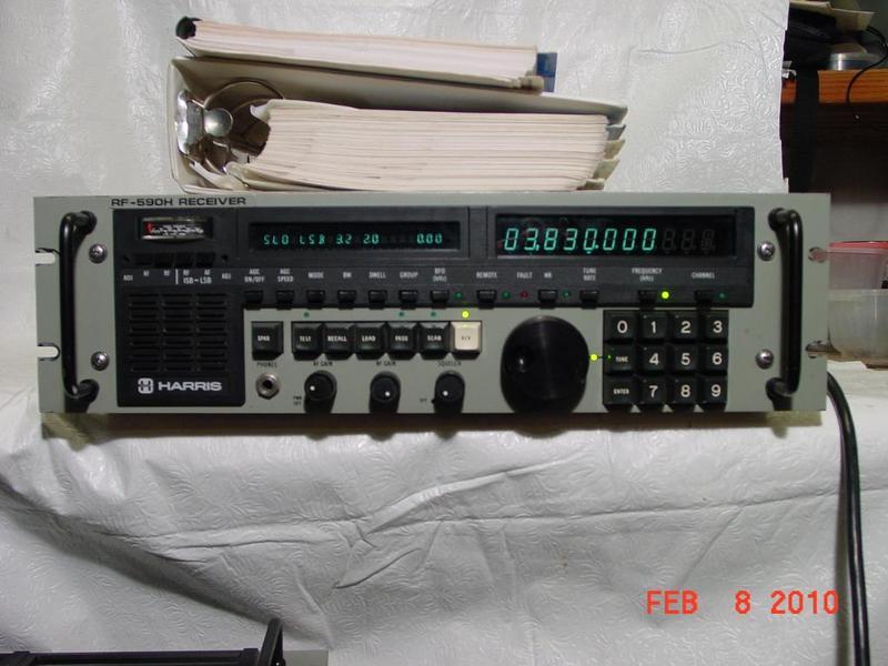 eHam net Classifieds Harris RF-590H HF receiver