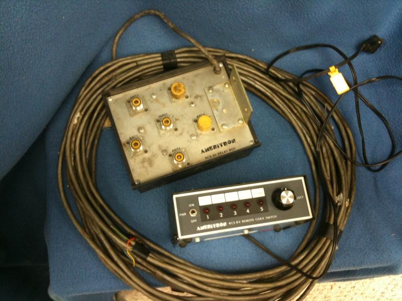 eHam net Classifieds Ameritron RCS-8V 5-Postion Remote
