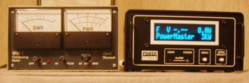 eHam net Classifieds Powermaster & Autek Watt Meters
