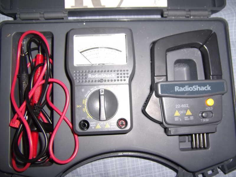 Radio Shack Multimeter : Eham classifieds radio shack multimeter w ac ammeter probe