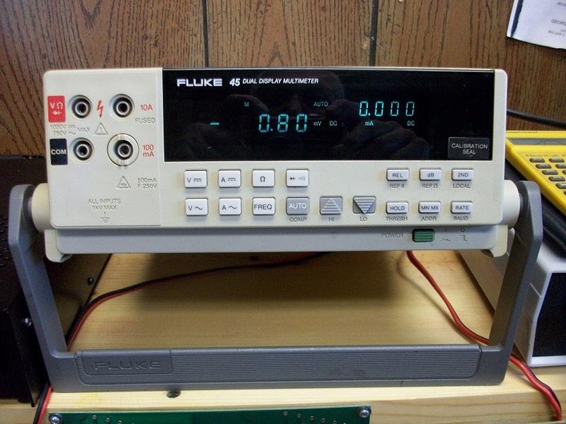 eham net classifieds fluke 45 bench meter fluke ti 45 user manual fluke 45 dual display multimeter user manual
