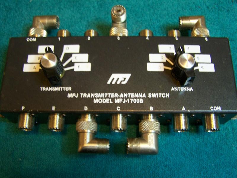 eHam net Classifieds For Sale: MFJ-1700B 2 posit Ant  Switch