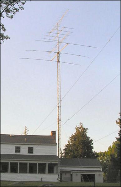 eHam net Classifieds Rohn 25G Foldover Tower