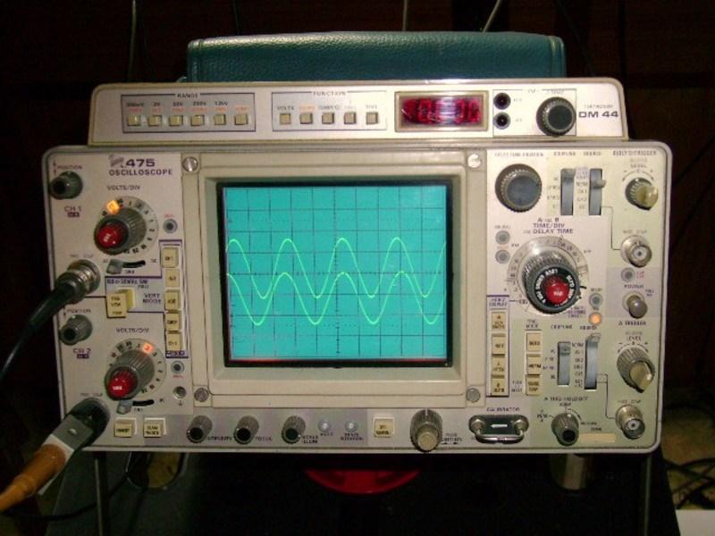 eham net classifieds tektronix 475 dm44 scope rh eham net Tektronix Phaser tek 475a service manual