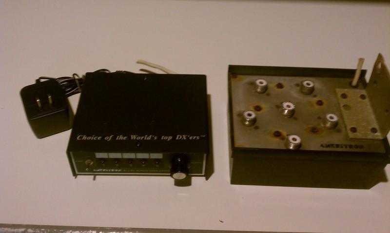 Replace Light Switch >> eHam.net Classifieds Ameritron RCS-8V Remote Switch