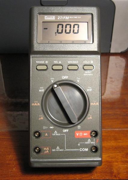 Digital Multimeter Fluke 27 : Eham classifieds for sale fluke model fm digital