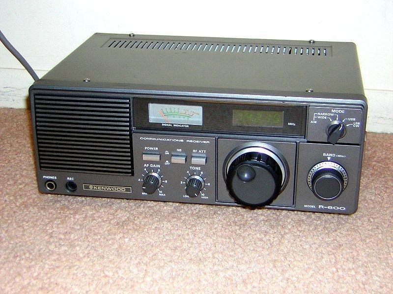kenwood amateur receiver worked variety