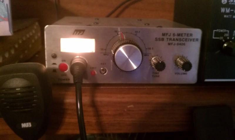 Mfj 6 meter radio