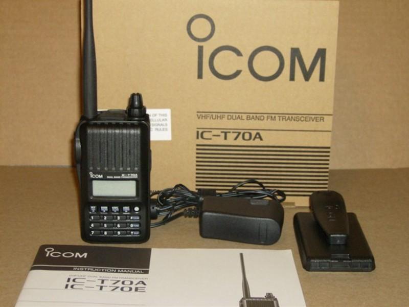 eHam net Classifieds WTS: Icom IC-T70A 2 meter / 440 MHz HT