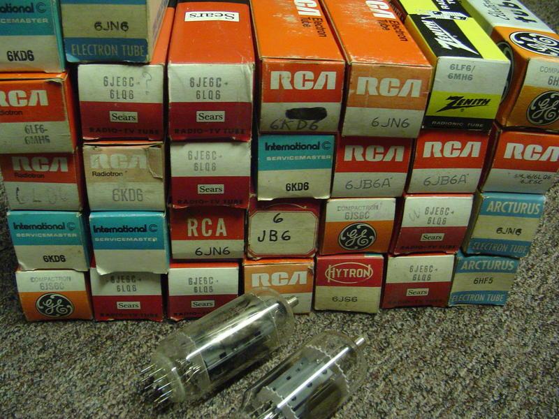 6kd6 - 6KD6 - NJ7P  6KD6 Vacuum Tube - BEAM POWER - RCA