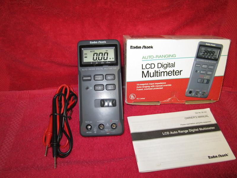 Radio Shack Multimeter : Eham classifieds radio shack lcd digital multimeter