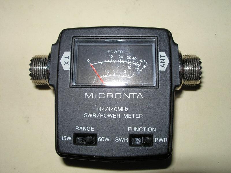 eHam net Classifieds Micronta VHF/UHF Wattmeter & SWR meter