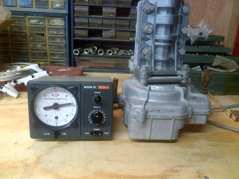 eHam net Classifieds Creative Design RC5A-3 Rotor/Control Box