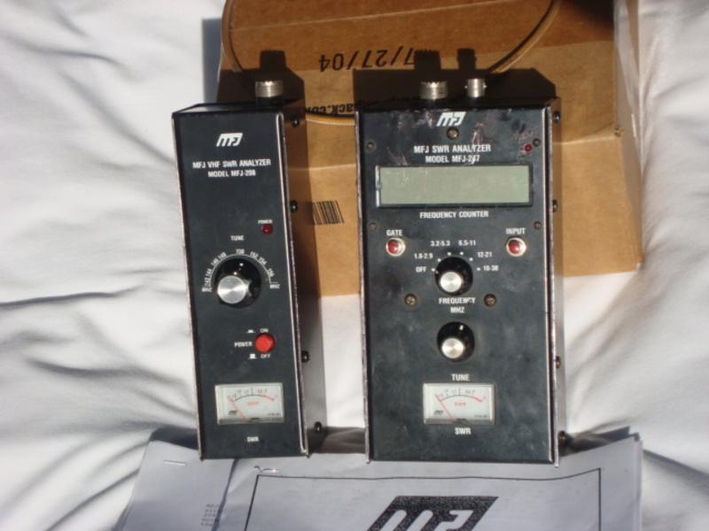eHam net Classifieds MFJ-247 and MFJ-204 ANALYZERS