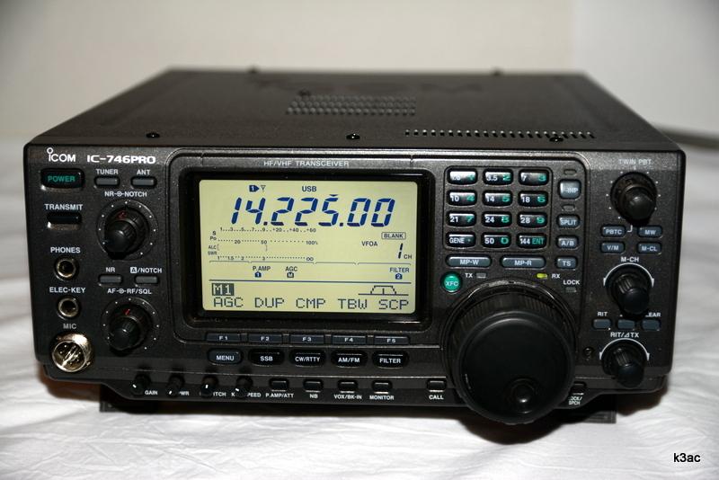 eHam net Classifieds Icom IC-746 Pro HF/VHF All-Mode