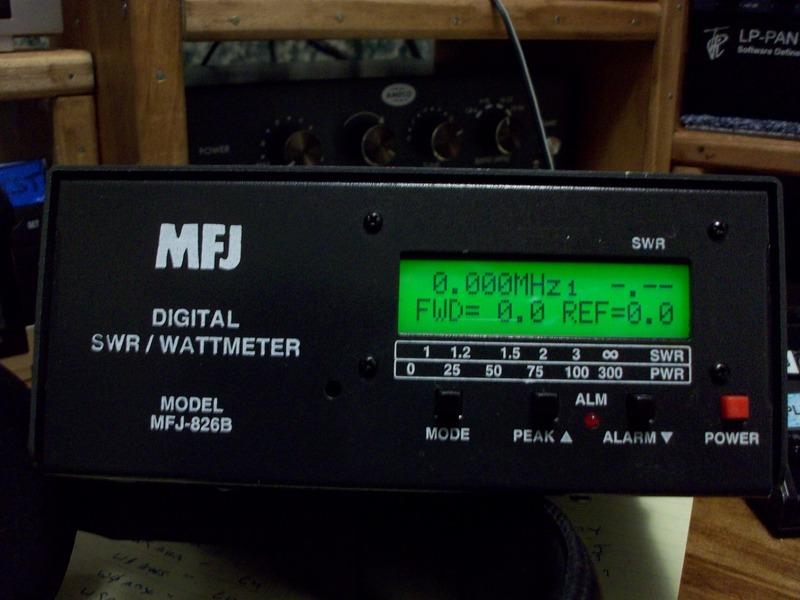 Digital Swr Meter : Eham classifieds mfj b digital swr wattmeter