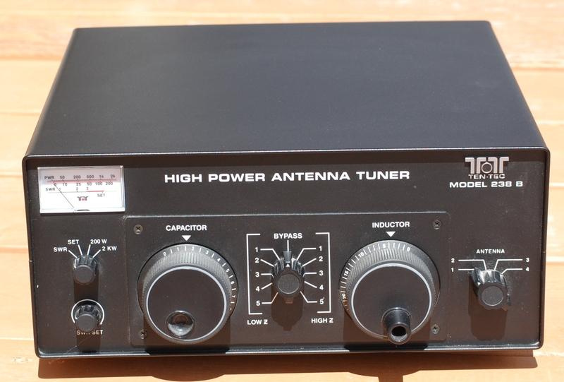 eHam.net Clifieds Ten Tec 238B antenna tuner