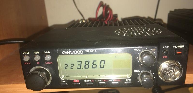 eHam net Classifieds Kenwood TM-331A 220mhz