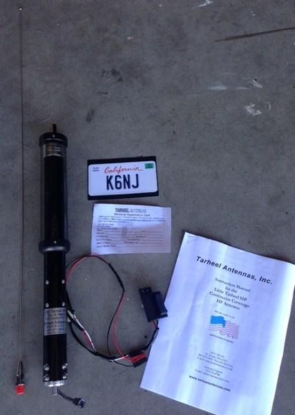 eHam net Classifieds LITTLE TARHEEL II HP Antenna