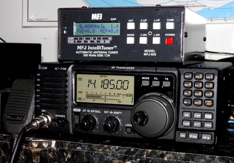 eHam net Classifieds Icom IC-718DSP & MFJ-929 tuner $650 SHIPPED