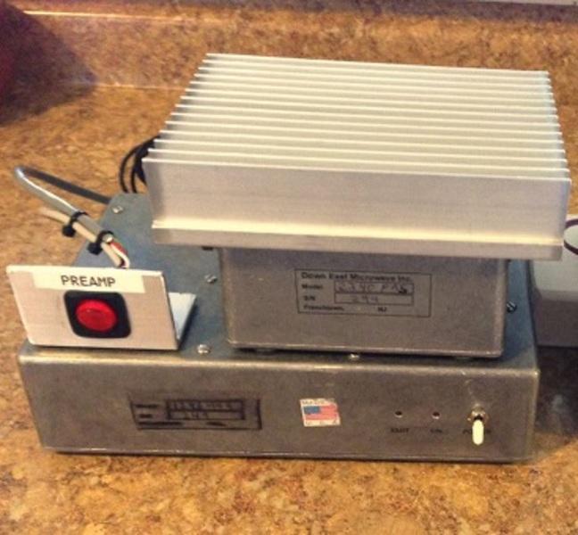 eHam net Classifieds FS: DEMI 1296 MHz Transverter/Amplifier