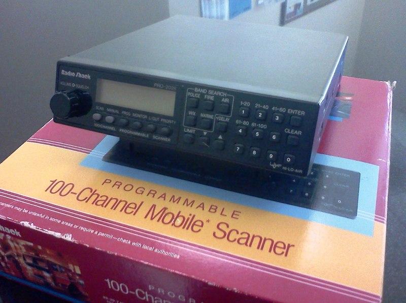 eHam net Classifieds RADIO SHACK SCANNER PRO-2026 LIKE NEW