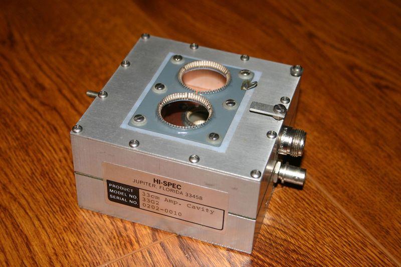 eHam net Classifieds HI-SPEC 900mhz Amplifier Cavity