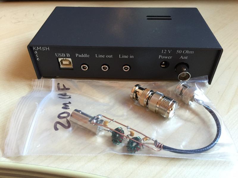 eHam net Classifieds SoftRock (built) SDR 15/12/10M transceiver