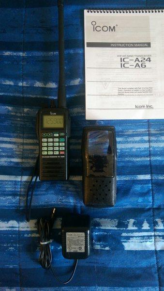 eHam net Classifieds ICOM IC-A24 NAV/COM Aviation Transceiver