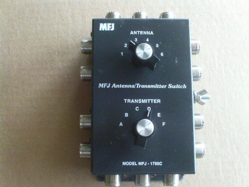 Transmitter Antennas Antenna/transmitter Switch
