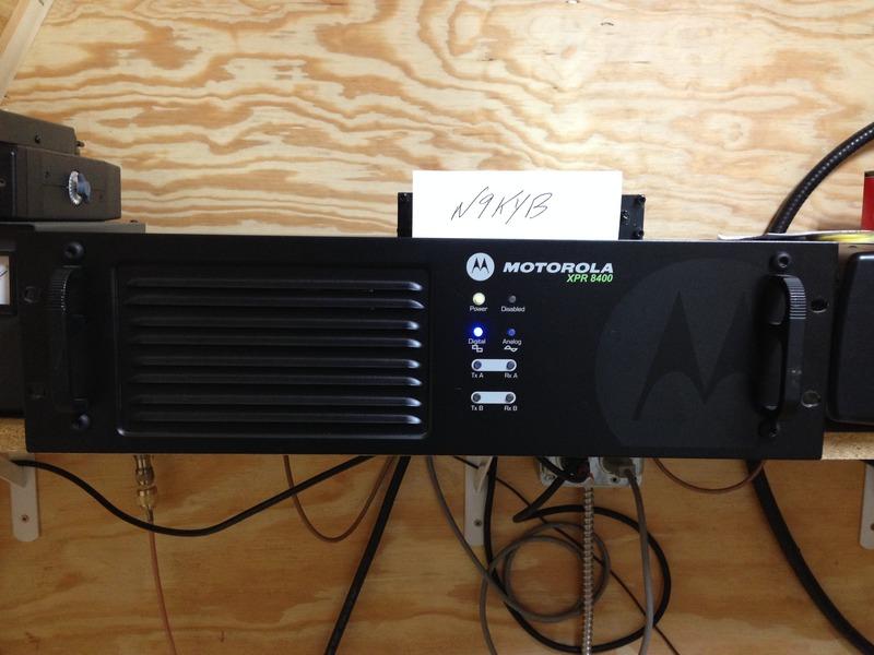 eHam net Classifieds Motorola XPR8400 Mototrbo DMR UHF Repeater