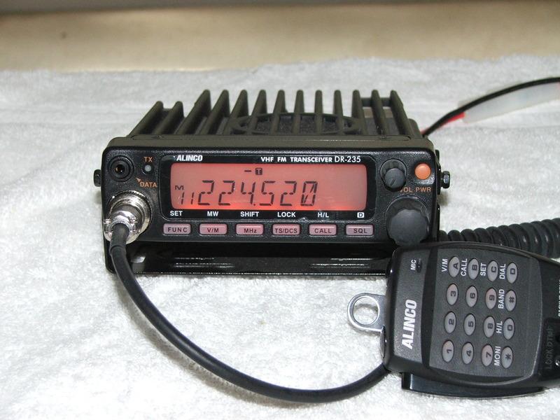 eHam net Classifieds Alinco DR-235T 220 MHz mobile rig