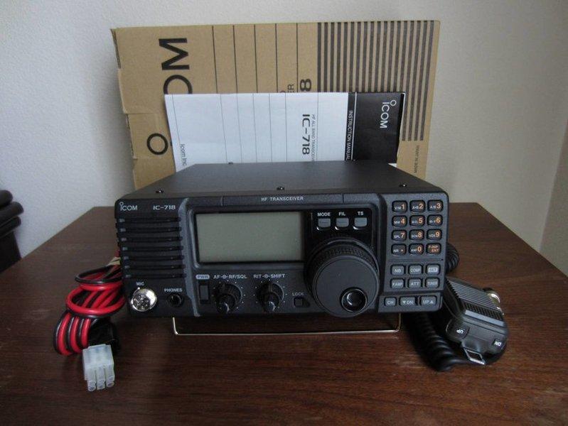 eHam net Classifieds Icom IC-718 HF Transceiver