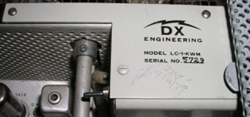 eHam net Classifieds DX Engineering LC-1-KWM