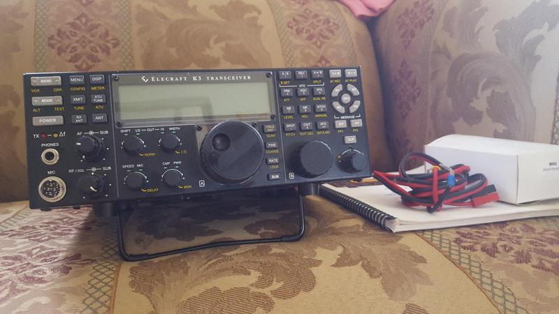 Elecraft mh2 microphone Manual