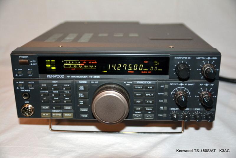Kenwood Hf transceiver Ts 450s Manual