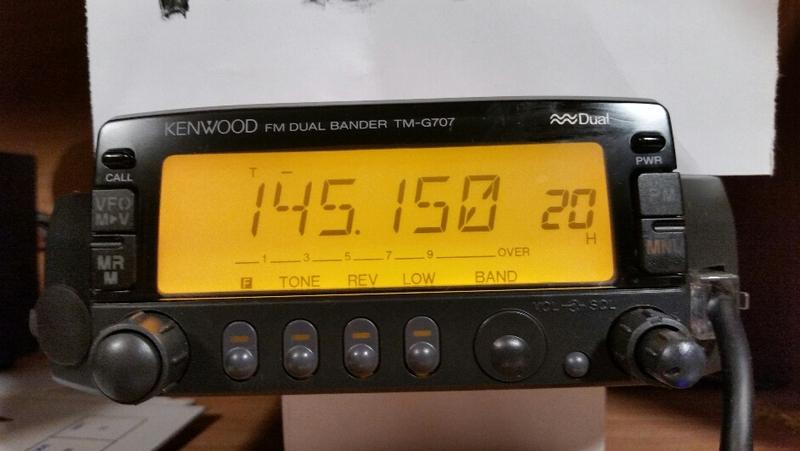 Kenwood tm D700 manual