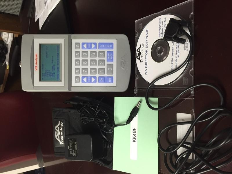eHam net Classifieds AEA Via Antenna Analyzer with PC Software & Ca