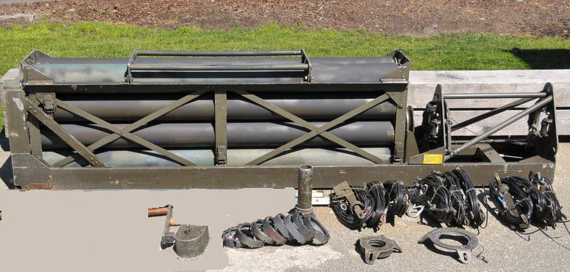 eHam net Classifieds AB-577 Military Surplus Aluminum 50' Portable Towe