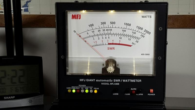 eHam net Classifieds MFJ-869 swr/watt meter