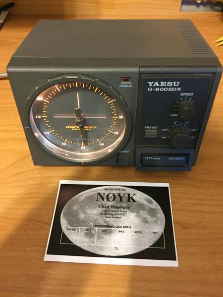 eHam net Classifieds FS: Yaesu G-800SDX Rotor Control Box