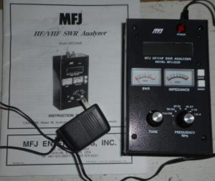 How to use a mfj 259b