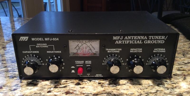 eHam net Classifieds MFJ-934 Antenna Tuner/Artificial Ground