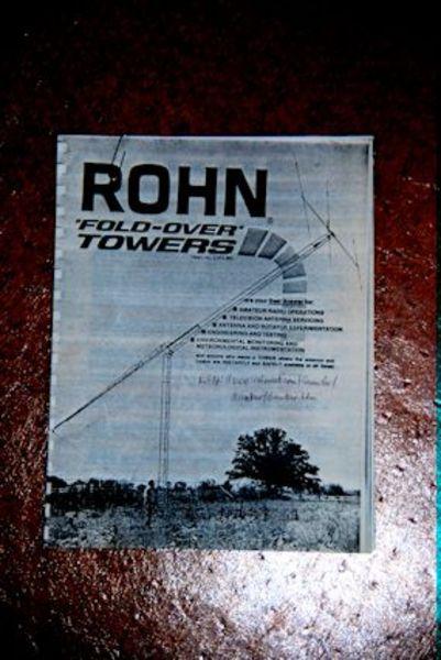 eHam net Classifieds Rohn 25G Boom for Foldover Tower