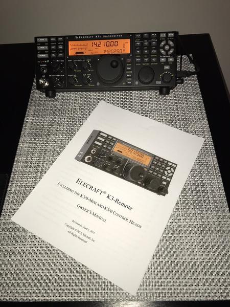 eHam net Classifieds Elecraft K3/0 Mini Remote