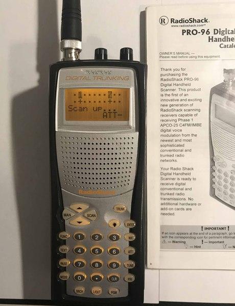 eHam net Classifieds Radio Shack PRO 96 digital scanner $80 shipped
