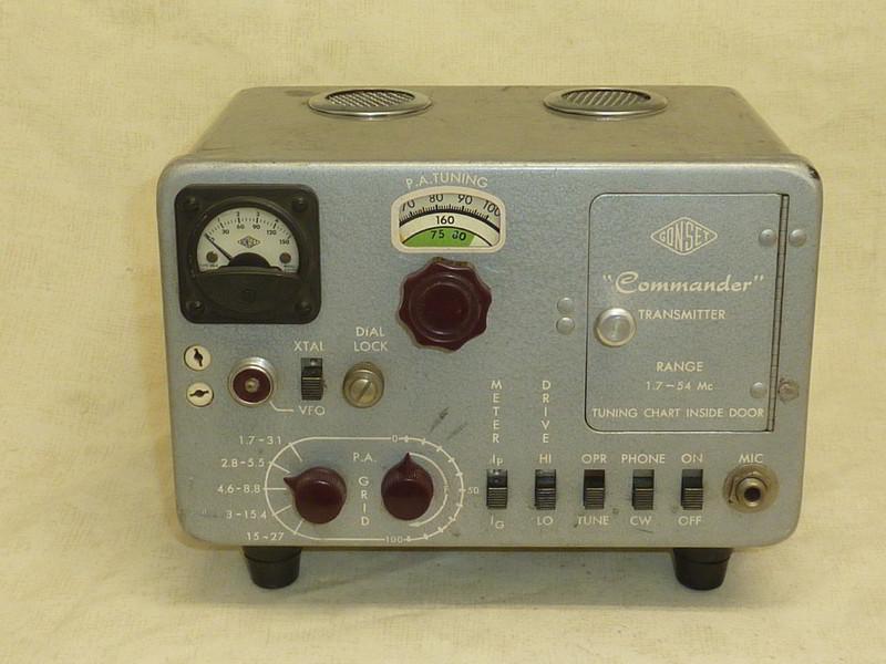 eHam net Classifieds Gonset Commander Model B Transmitter